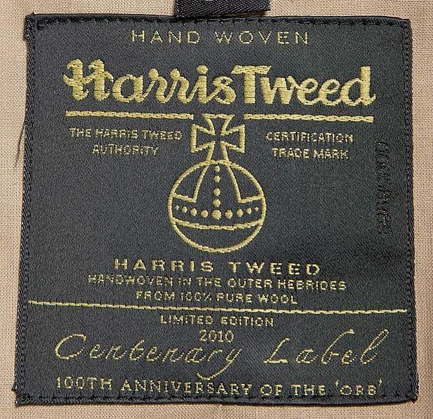 Harris_Tweed_Authority_Centenary_Label