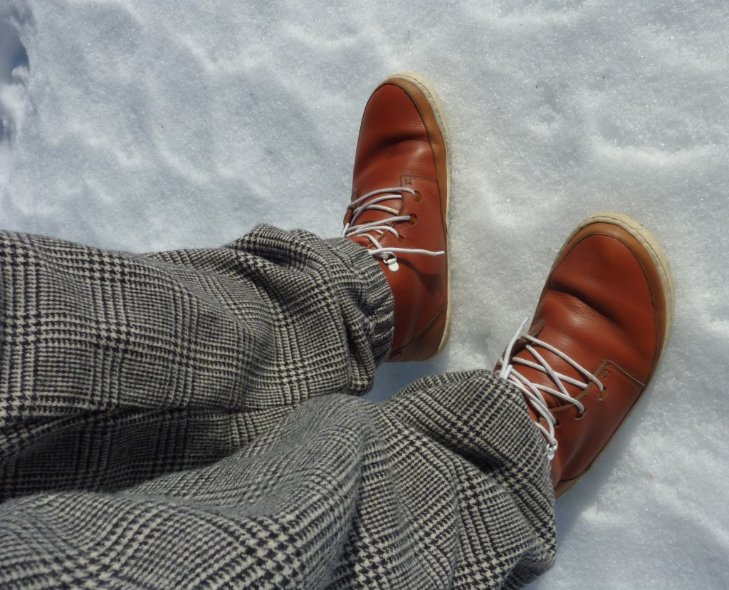 oslo pants and folk boots