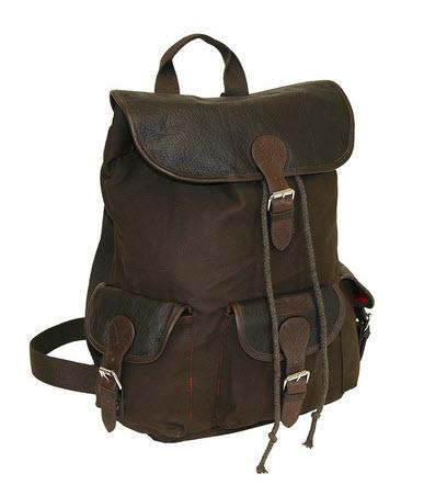 ossington brushed twill backpack