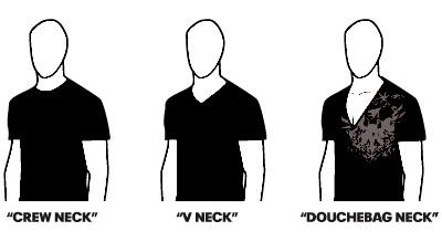 douchebag neck