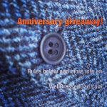Blog anniversary giveaway prize details!