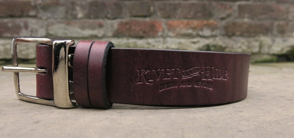 rivet and hide belt