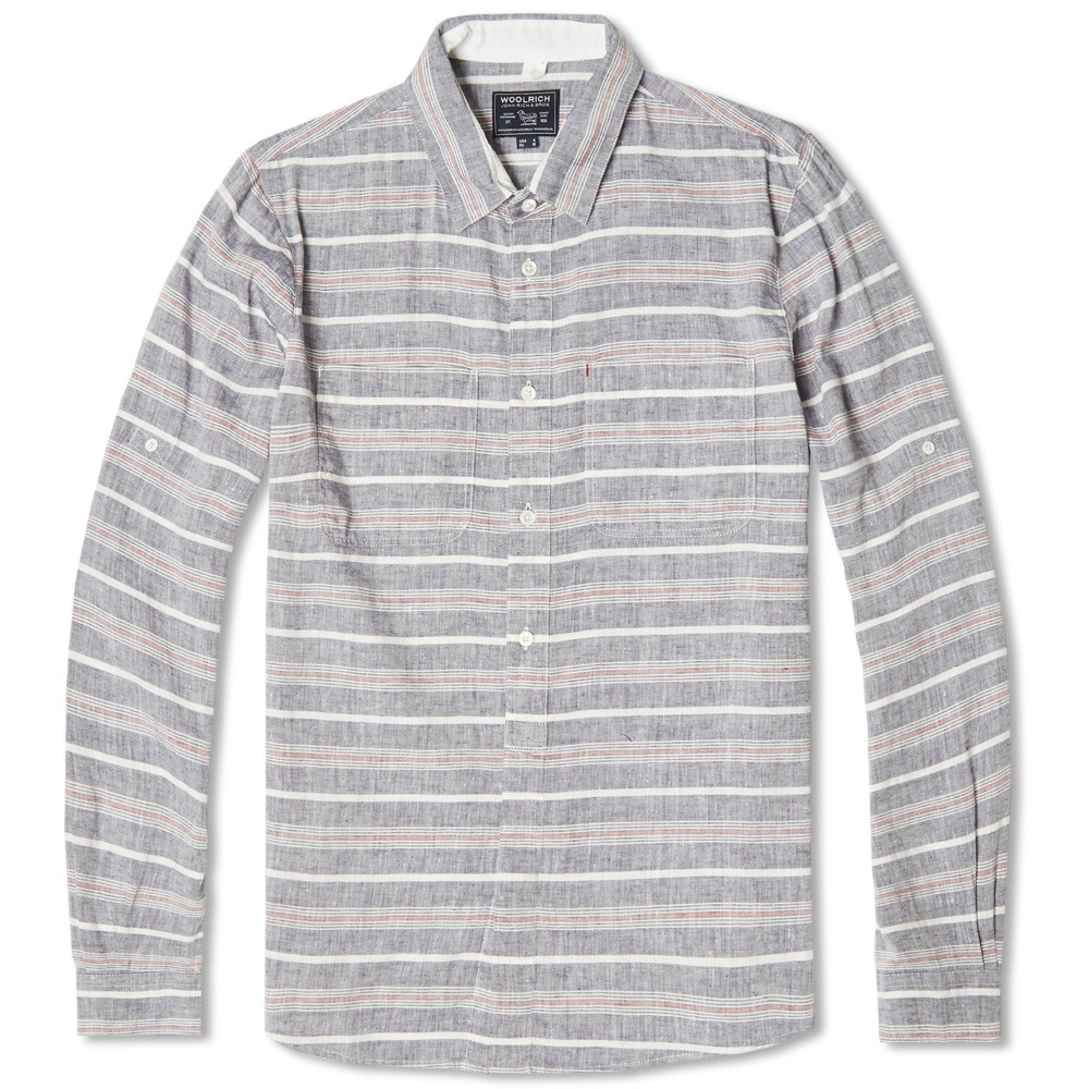 A pretty sweet linen-based shirt by Woolrich