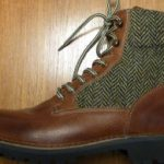 Introducing the Fracap X WDD tweed and leather winter boots