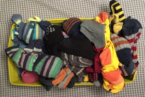 folding your socks and trousers