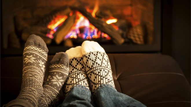 "When I google for ""hygge"" images this is the first that comes up. I will admit that at times when my feet were frozen, while wearing wool socks and there was a fireplace handy, I have thawed out in this manner. It's hardly an everyday occurrence though, and there were no offers of mulled wine or artisan baked goods."